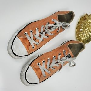 Converse Chuck Taylor's Creamiscle Orange Low Tops